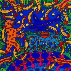 Happy Berlin 130 x 130 cm 2011