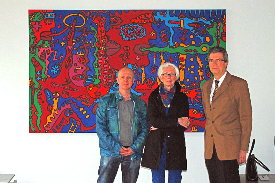 Ausstellung Christoph Mandera Landgericht Bochum